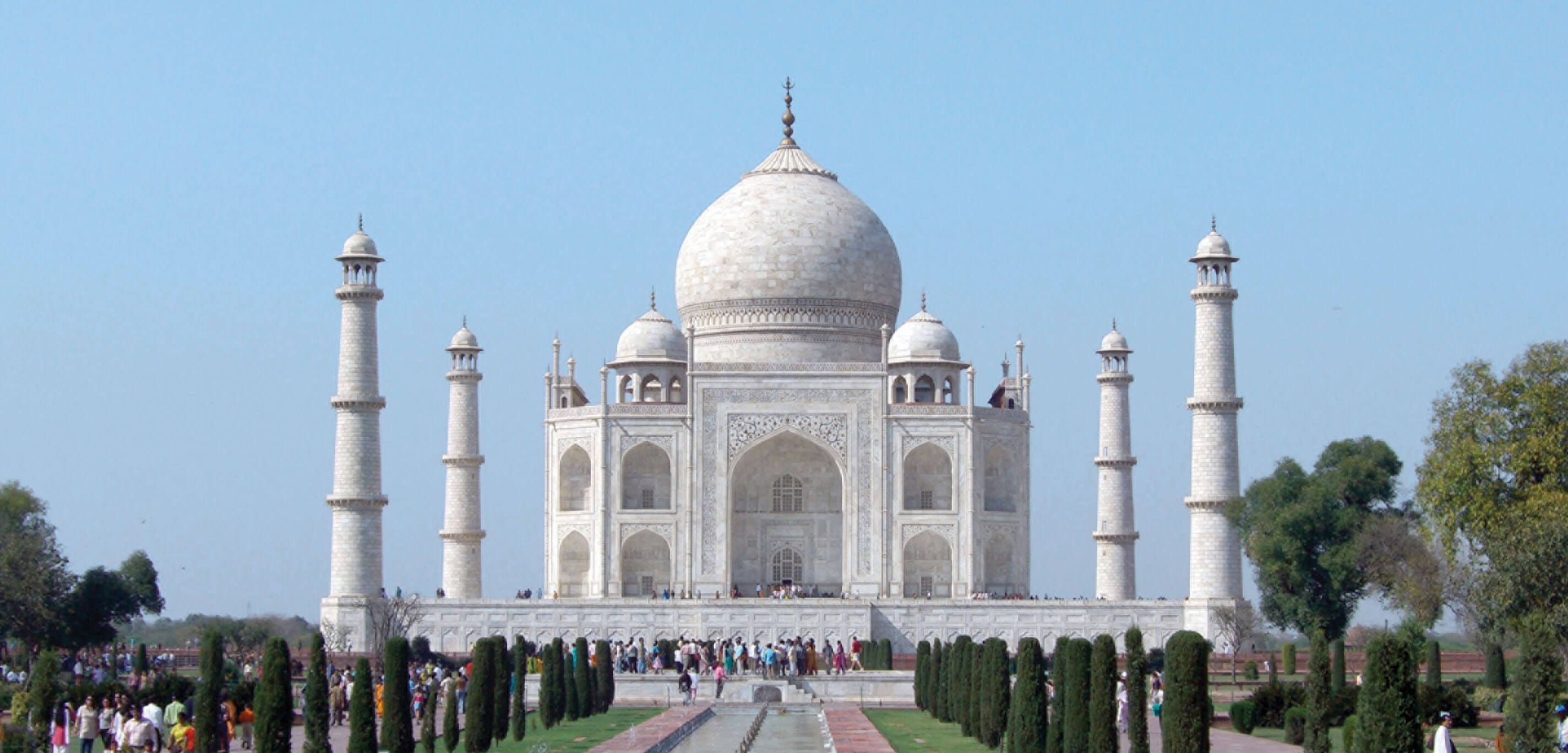 Discover Incredible India - Taj Mahal